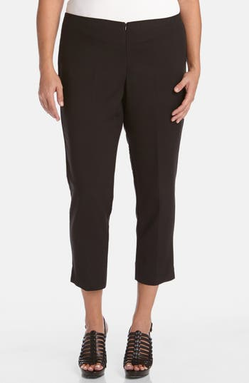 Plus Size Karen Kane Stretch Capri Pants