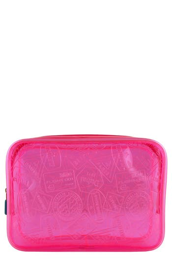 Flight 001 'X-Ray' Neon Quart Bag - Pink at NORDSTROM.com