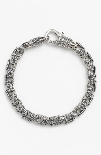 Men's Konstantino 'Classics' Carved Bracelet