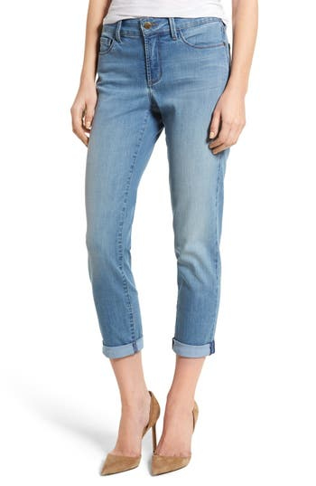 Women's Nydj Alina Roll Cuff Stretch Ankle Skinny Jeans