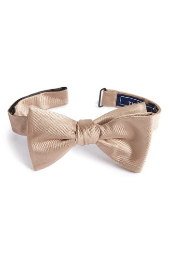 The Tie Bar Silk Solid Bow Tie