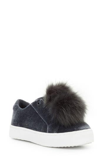 caf066e457fbf ... Pom-Pom Slip On Sneakers UPC 727682185862 product image for Women s Sam  Edelman  Leya  Faux Fur Laceless Sneaker