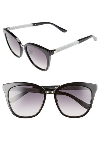 Jimmy Choo Fabry 5m Sunglasses - Black