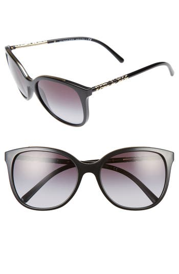 Women's Burberry 57Mm Sunglasses - Black