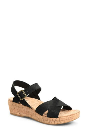 Kork-Ease® 'Myrna 2.0' Cork Wedge Sandal