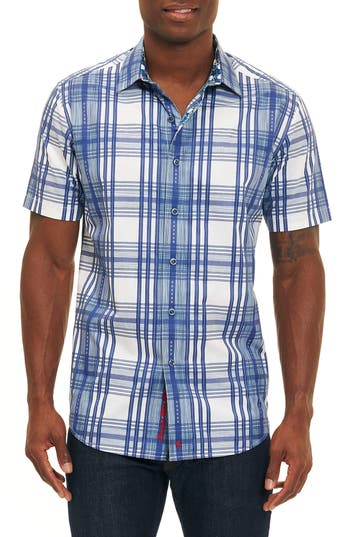 Men's Robert Graham East Timor Plaid Sport Shirt