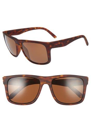 Men's Electric Swingarm Xl 59Mm Polarized Sunglasses - Matte Tort/ Bronze Polar
