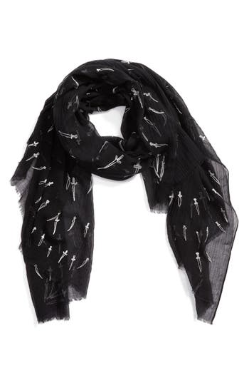 Women's Rag & Bone Embroidered Dagger Scarf