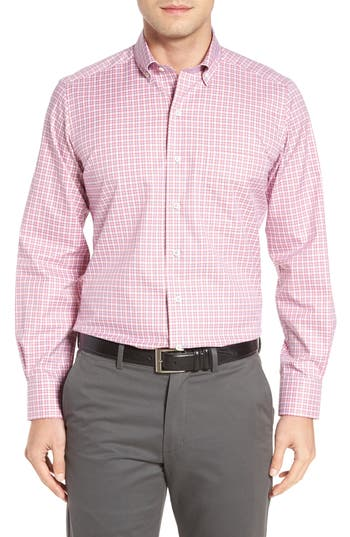 Men's David Donahue Check Sport Shirt