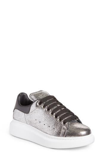 Alexander Mcqueen Sneaker, Metallic