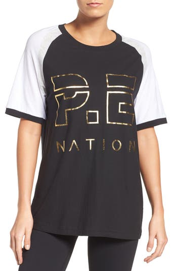 P.e Nation One Time Raglan Tee