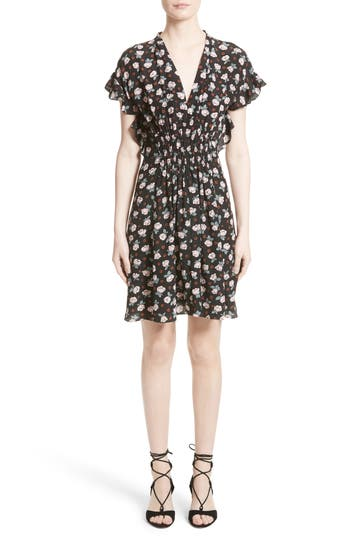 Women's Rebecca Taylor Rosalie Floral Smocked Dress