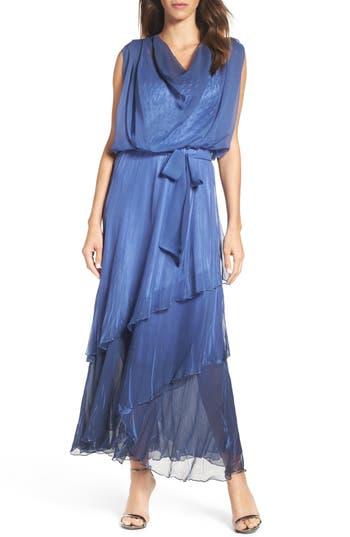 Komarov Chiffon Maxi Dress