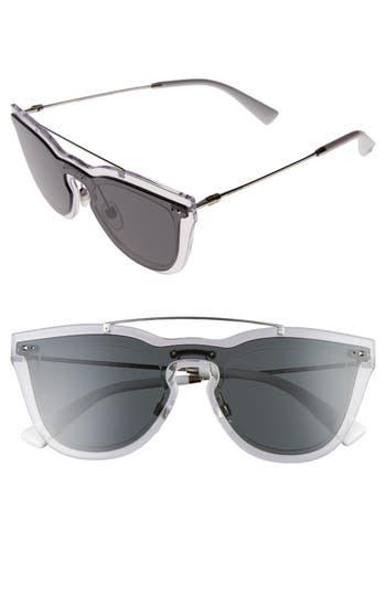 Valentino 4m Retro Sunglasses - Grey/ Silver