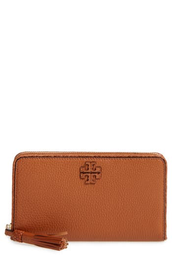 Women's Tory Burch Continental Leather Wallet -
