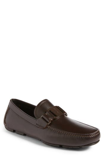 Men's Salvatore Ferragamo 'Sardegna' Driving Shoe