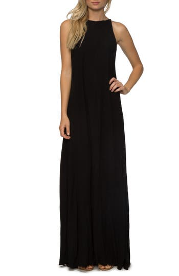Tavik Farleigh Cover-Up Maxi Dress, Black