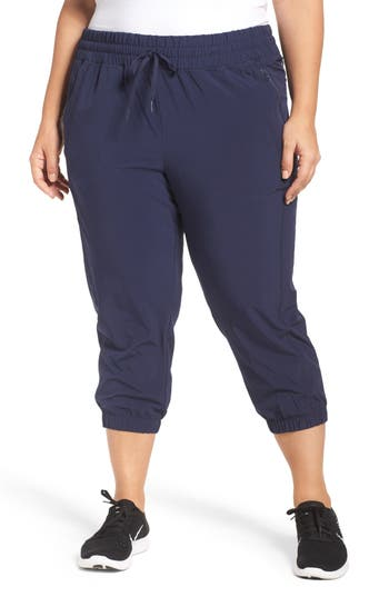 Plus Size Women's Zella Out & About Crop Jogger Pants