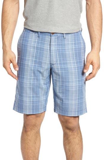 Tommy Bahama Dayboard Plaid Shorts, Blue