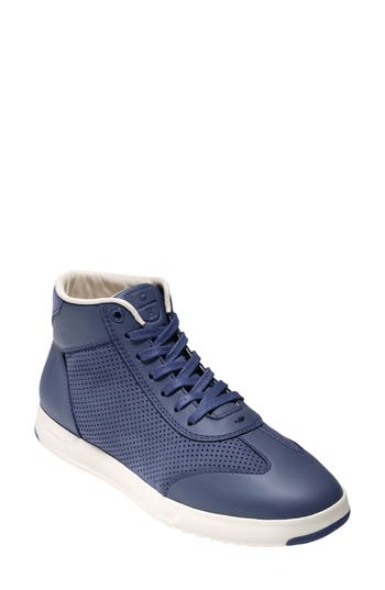 Cole Haan Grandpro High Top Sneaker B - Blue