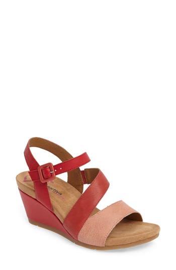 Comfortiva Violet Wedge Sandal
