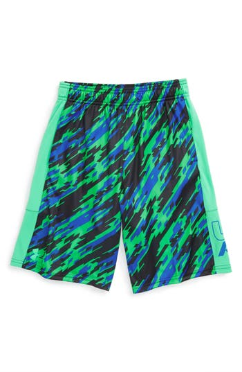 Boy's Under Armour Stunt Heatgear Shorts