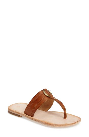 Frye Avery Harness Sandal- Brown
