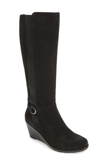 Blondo Lexie Waterproof Knee High Boot- Black