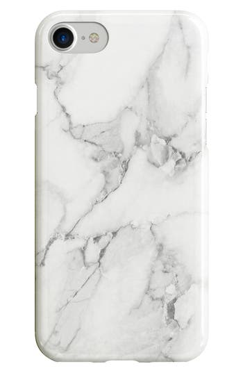 Recover White Marble iPhone 6/6s/7/8 & 6/6s/7/8 Plus Case