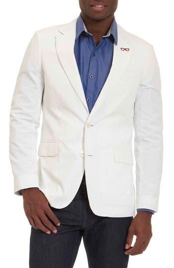 Robert Graham Castroville Classic Fit Sport Coat, White