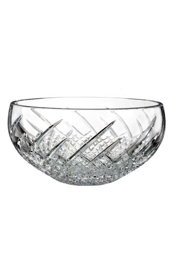 Waterford Wild Atlantic Way Lead Crystal Bowl, Size One Size - White
