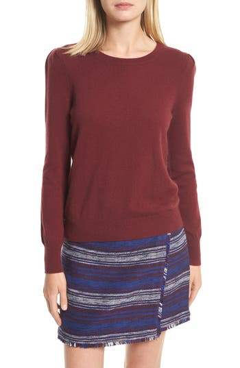 Joie Abiline Wool & Cashmere Sweater, Red