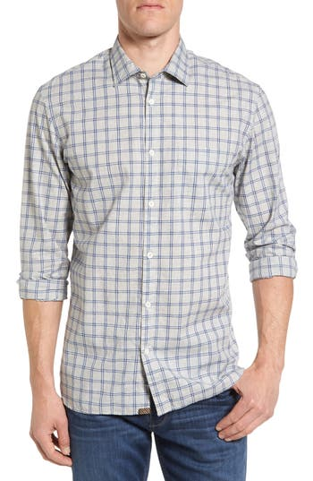 Men's Billy Reid John T Standard Fit Plaid Sport Shirt