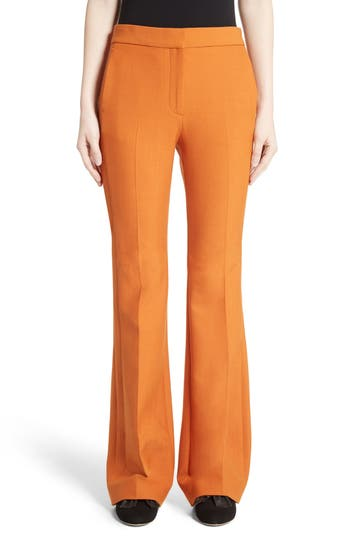 Victoria, Victoria Beckham Flare Pants, Red