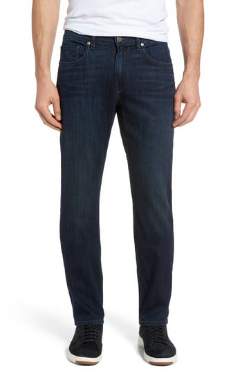 Big & Tall Paige Normandie Straight Leg Jeans, Blue