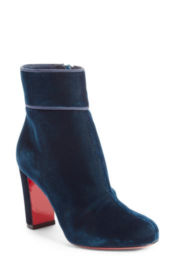 Christian Louboutin Moulamax Bootie - Blue