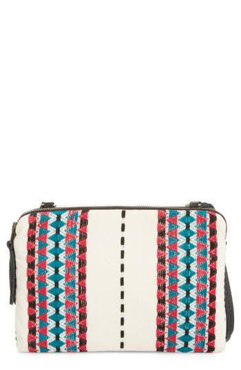 Mercado Global Andrea Canvas Crossbody Bag - Pink