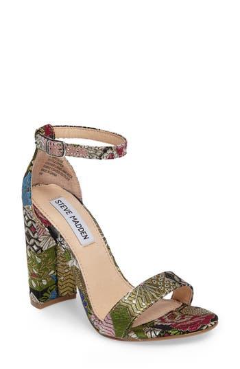 Women's Steve Madden Carrson Sandal, Size 5.5 M - Blue