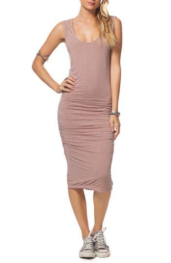 Rip Curl Premium Surf Ruched Dress, Pink