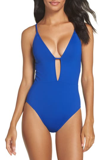 La Blanca One-Piece Swimsuit, Blue