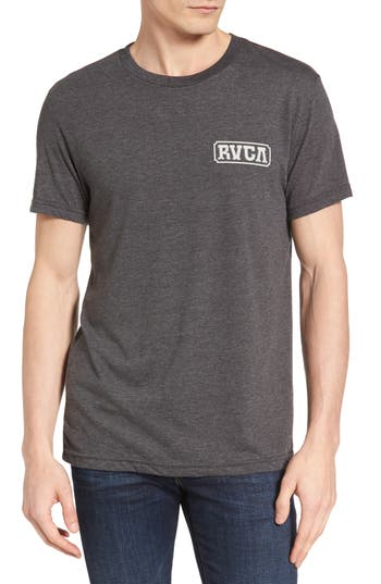 Rvca Suzuki Sign Graphic T-Shirt, Black