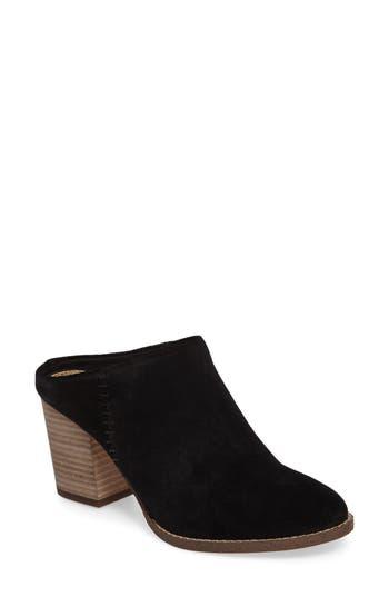 Women's Splendid Debrah Block Heel Mule, Size 8 M - Black