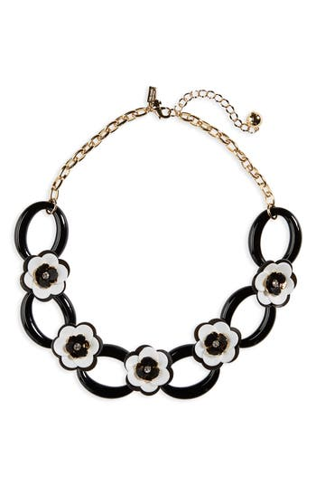 Women's Kate Spade Rose Posies Link Necklace