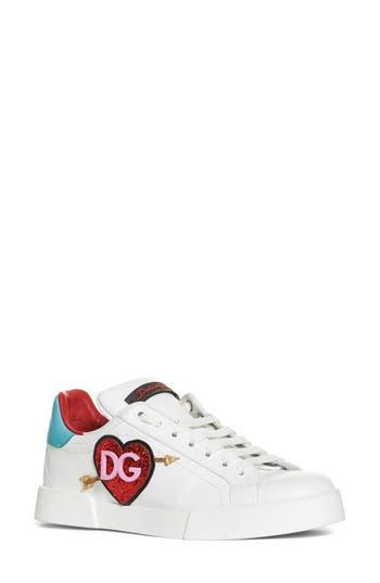 Dolce & gabbana Heart Sneaker, White
