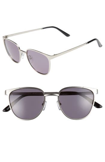 Men's Smoke X Mirrors Money 51Mm Sunglasses - Silver/ Green Grey