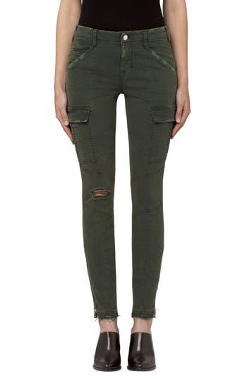 J Brand Mid Rise Houlihan Cargo Pants, Green