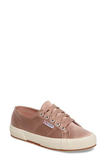 Superga Satin Sneaker - Pink