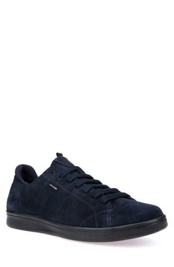 Geox Warrens 8 Low-Top Sneaker, Blue