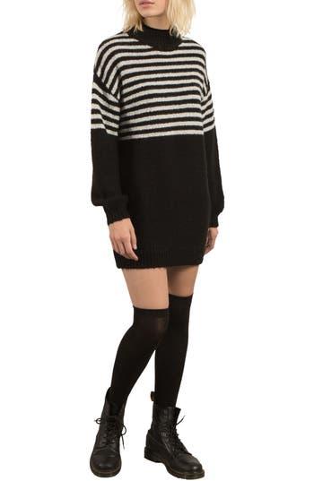 Volcom Cold Daze Knit Dress, Black