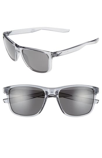 Nike Unrest 57Mm Sunglasses - Wolf Grey/ Deep Pewter